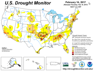 Drought Monitor - February 2017