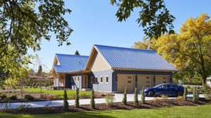 LEED Platinum & GreenStar Gold Home in MN (Photo courtesy of Corey Gaffer)